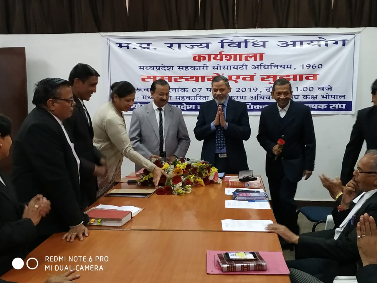 Madhya Pradesh State Law Commission workshop  dated on 07-02-2019